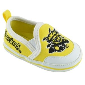 Wichita State Shockers Baby Crib Shoes Booties NWT